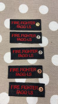 PERSONALISED NAME BADGES FOR ITEMS